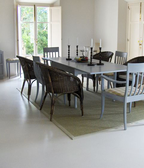 Suelos microcemento pared muebles autonivelante de - Suelo de microcemento pulido ...